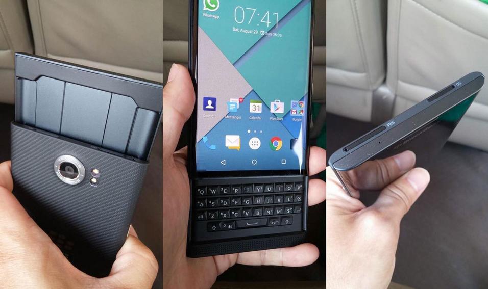 Android смартфон BlackBerry Priv