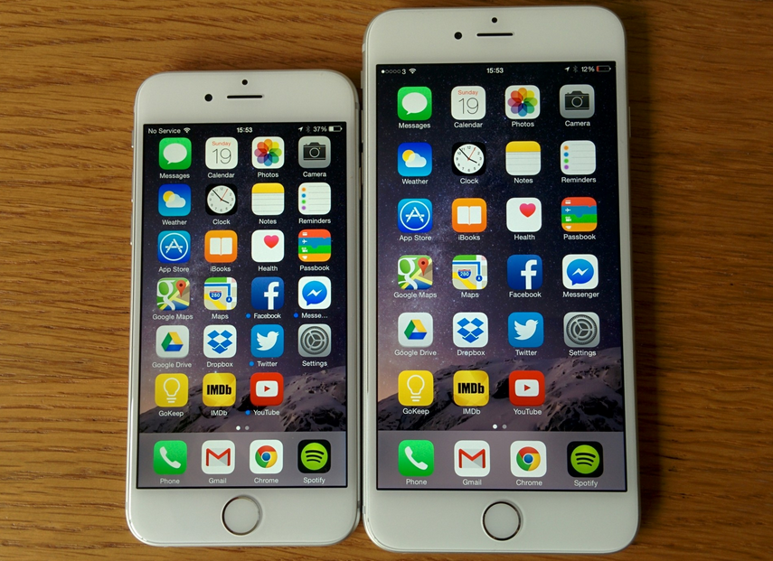 iPhone 6 и iPhone 6s Plus