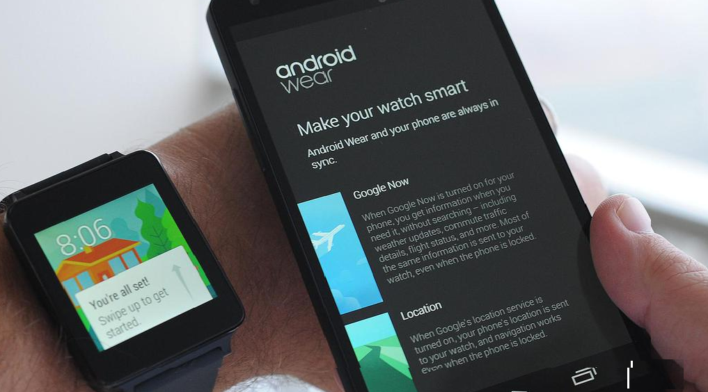 смарт часы на Android Wear