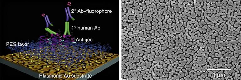 Электронные схемы из наночастиц золота