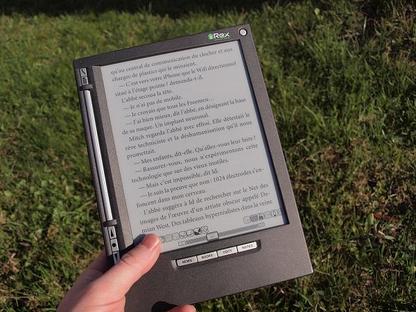 основные характеристики электронных книг