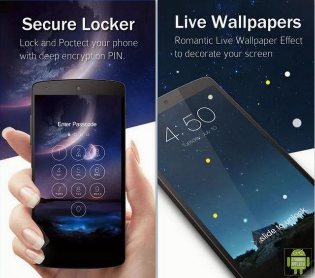 Лучшие приложения для блокировки экрана на Андроид 2016