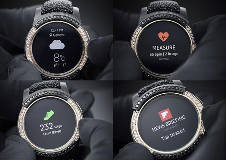Умные часы Samsung Gear S2 by de Grisogono