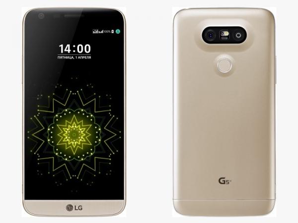 В России стартуют продажи LG G5 SE