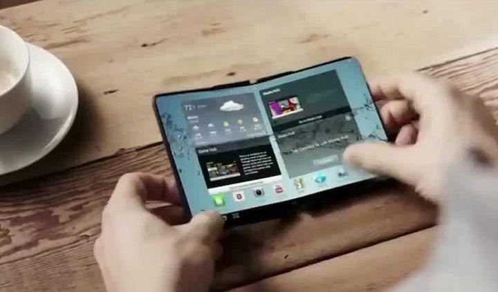 В 2017 году Samsung выпустит смартфон со складным дисплеем