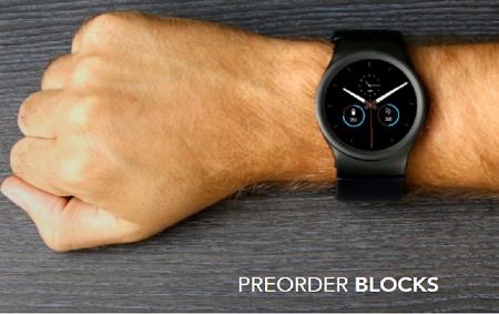 умные часы Blocks