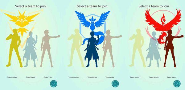 Как выбрать команду в покемон го