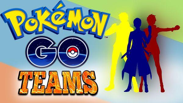 Как выбрать команду в Pokémon Go
