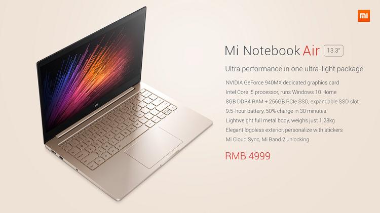 Xiaomi Notebook Air 8