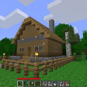 строительство домика в майнкрафте
