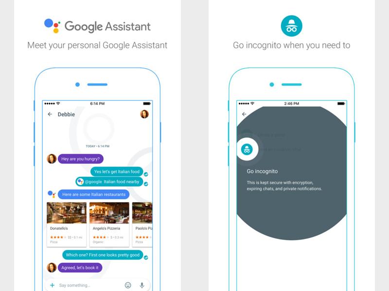 Как установить Google Allo
