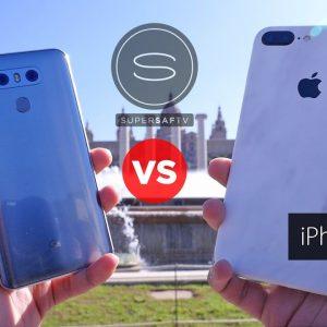 LG G6, iPhone 7Plus, общий вид