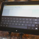 Планшетный ноутбук с сенсорным экраном