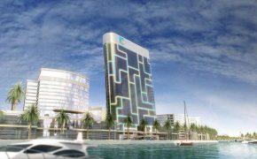 iPod-небоскрёб скоро достроится в Дубае