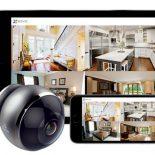 Камера широкого обзора для безопасности жилья EZVIZ Mini Pano