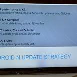 В октябре Sony Xperia X Performance и XZ первыми получат Android 7.0 Nougat